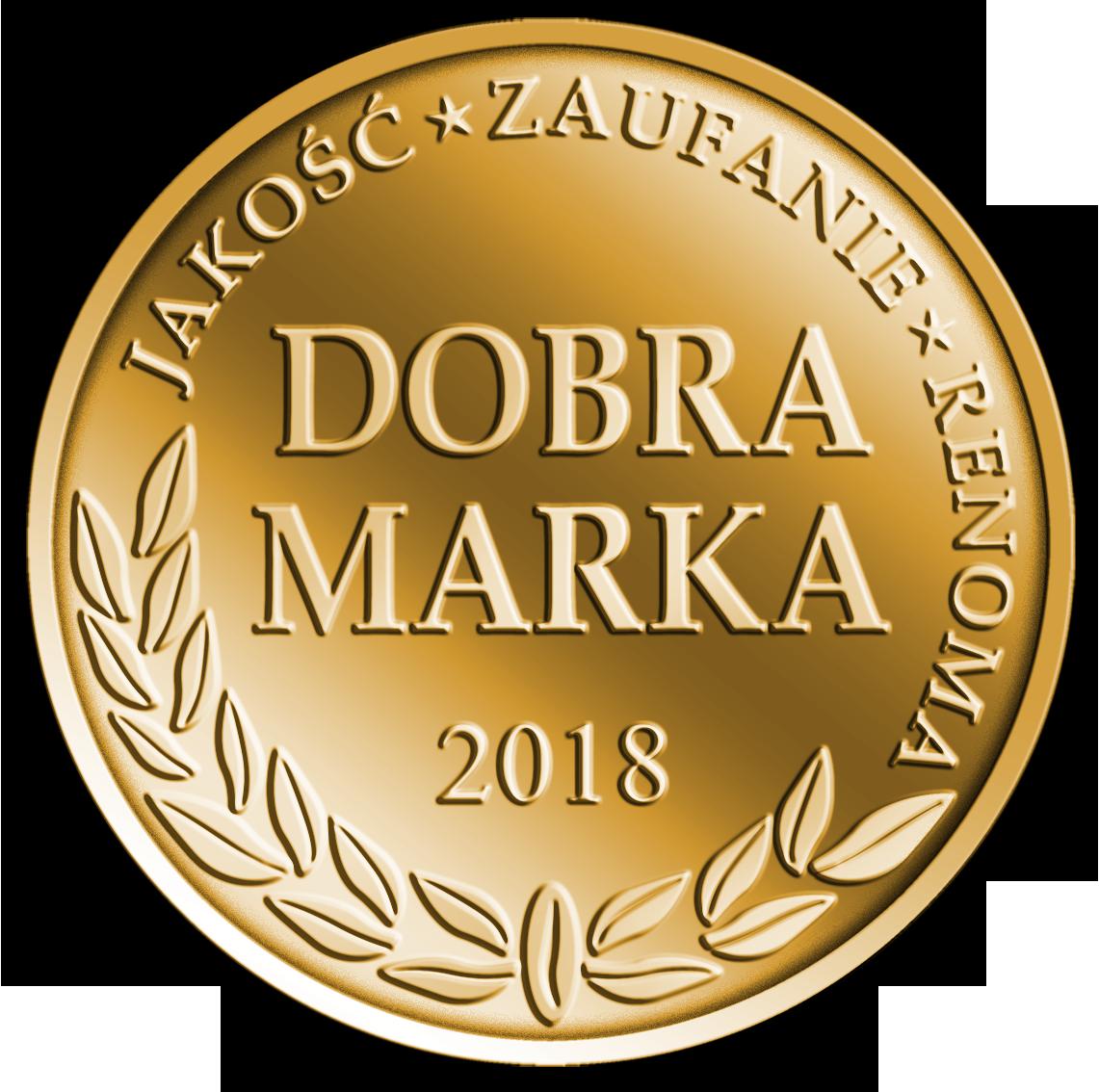 Dobra Marka 2018 logo
