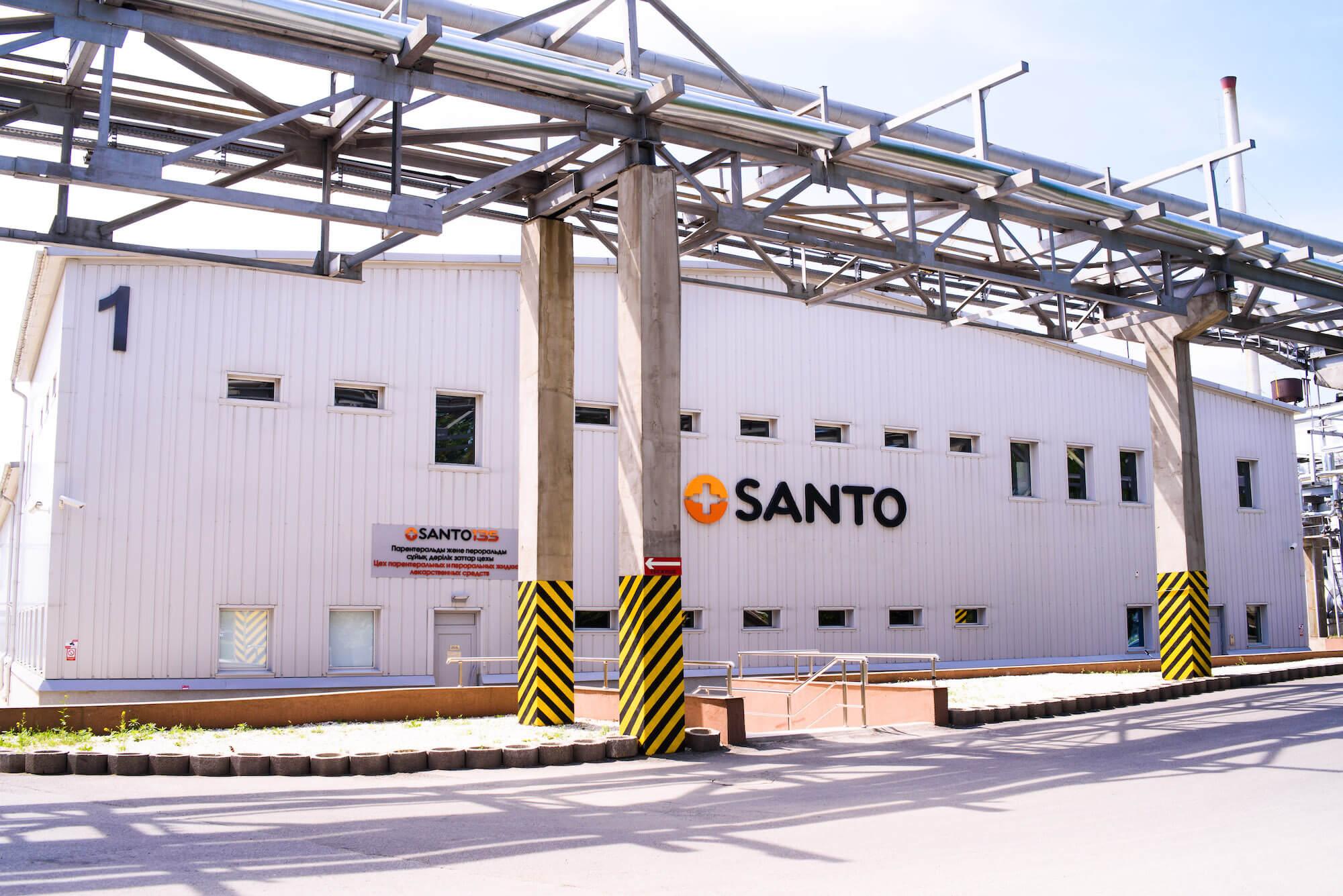 Budynek zakładu Santo