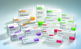 Packages of prescription drugs