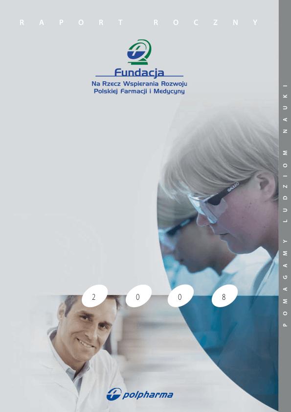 Raport roczny 2008 okładka