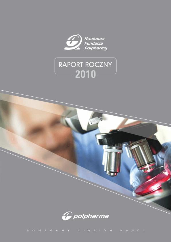 Raport roczny 2010 okładka