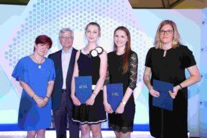 Laureaci konkursu nanajlepsze prace magisterskie zfarmacji