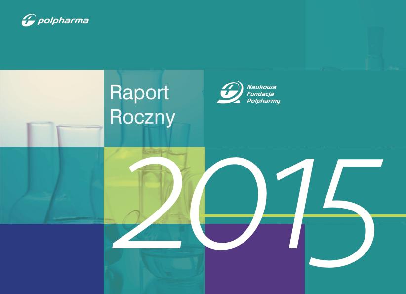 Raport roczny 2015 okładka