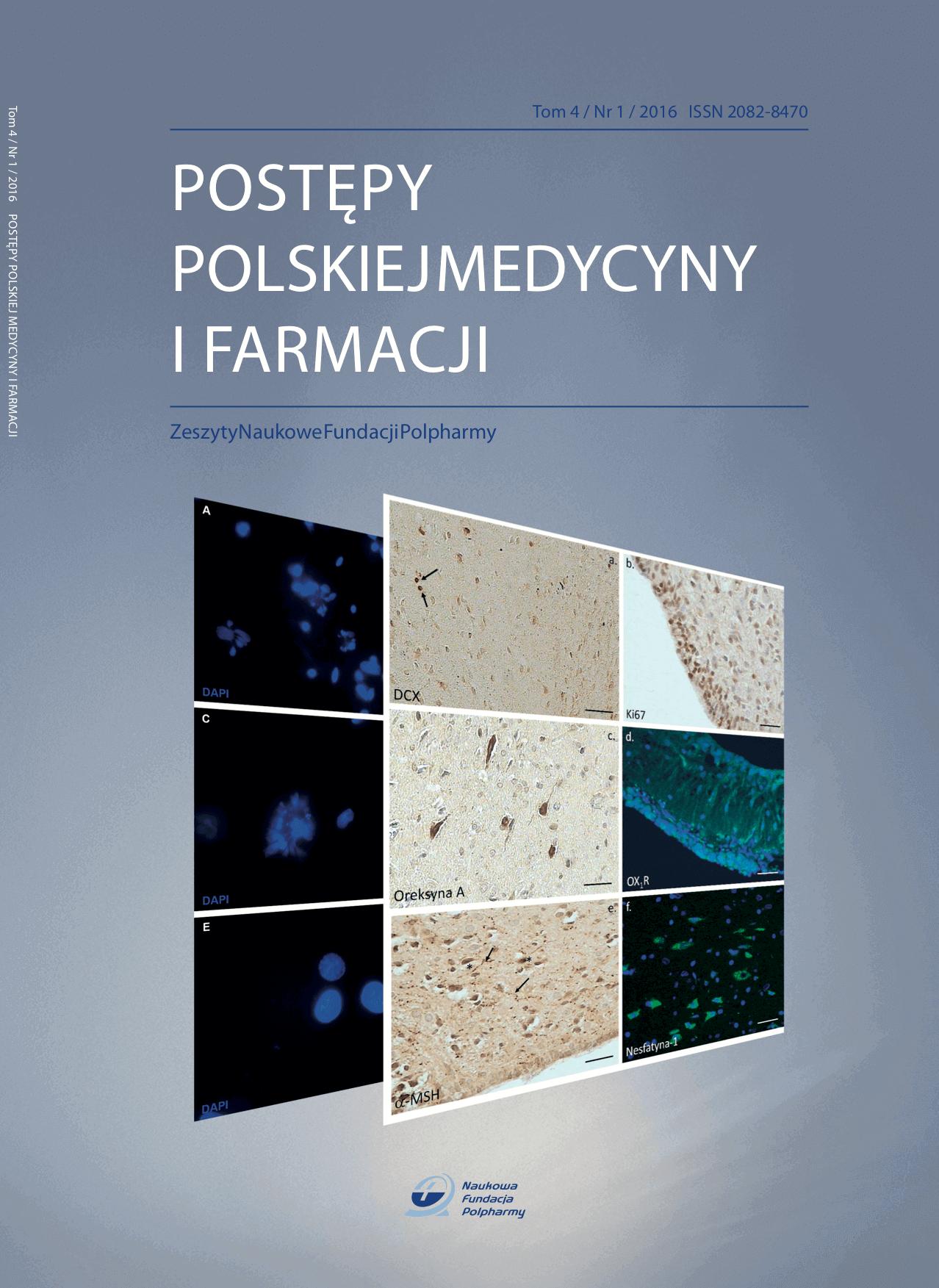 Postępy Polskiej Medycyny i Farmacji Tom 4 okładka