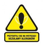 Przygotuj sie na wstrząs! Uczulamy alergików logo