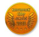 Logo Konsumencki Lider Jakości dla DexaPico