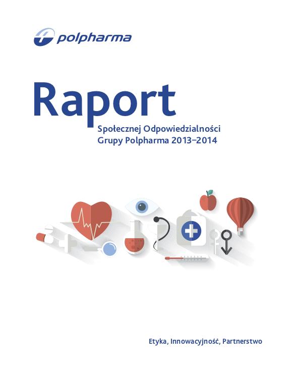 okladka_polpharma_raport_spoleczny 2013-2014