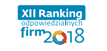 Logo XII Rankingu Odpowiedzialnych Firm 2018