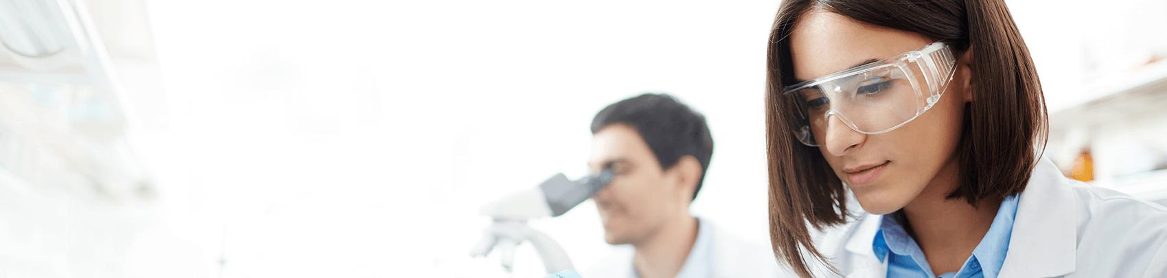 Laboratory staff