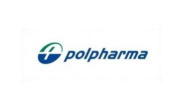 Logo of Polpharma from 2002