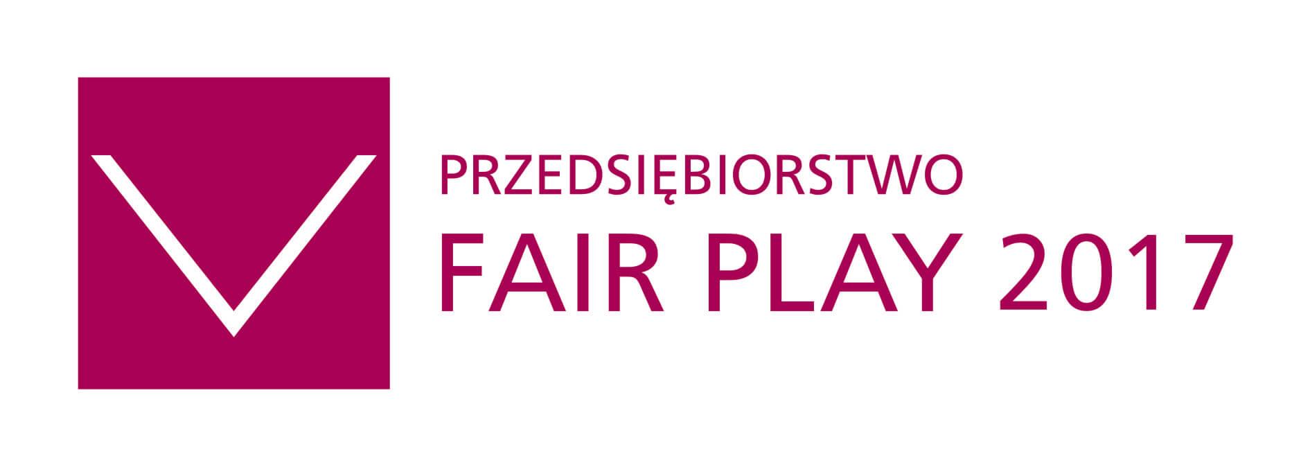 Certyfikat Przedsiębiorstwo Fair Play logo