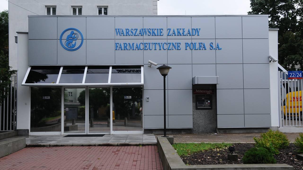 Budynek Polskich Zakładów Farmaceutycznych