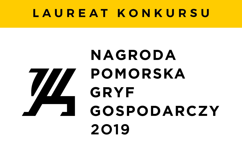 Logo nagrody Pomorski Gryf Gospodarczy 2019