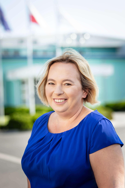Branch manager Beata Olborska