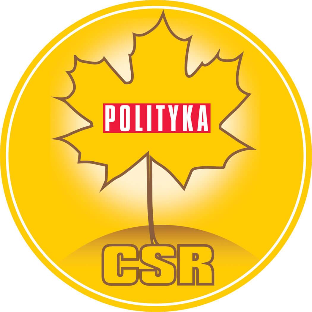 Logo nagrody Złoty Listek CSR 2019