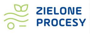 Logo zielony proces