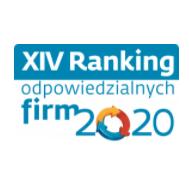 Logo XIV Rankingu Odpowiedzialnych Firm 2020