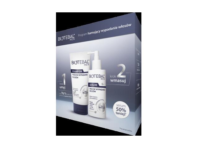 Biotebal Men Szampon 150 ml i Biotebal Men Serum 100 ml /pakiet/