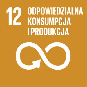 Zrównoważony Rozwój (SDGs) ikona Odpowiedzialna konsumpcja i produkcja