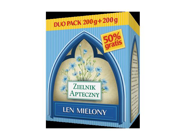 Len mielony 200 g + 200 g pakiet