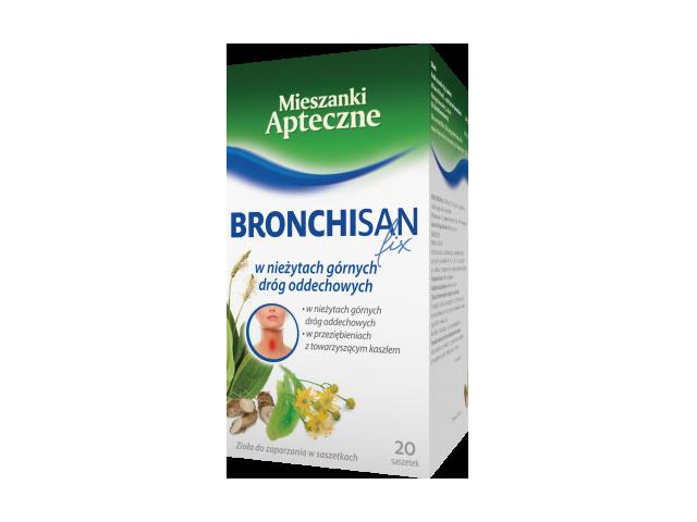 Bronchisan fix 3g x 20 sasz.
