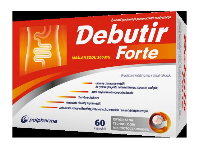 Debutir Forte 300 mg x 60 kaps.