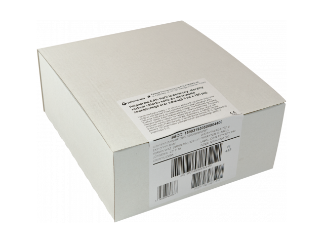 Polpharma 0,9% NaCl 5 ml x 100 amp.