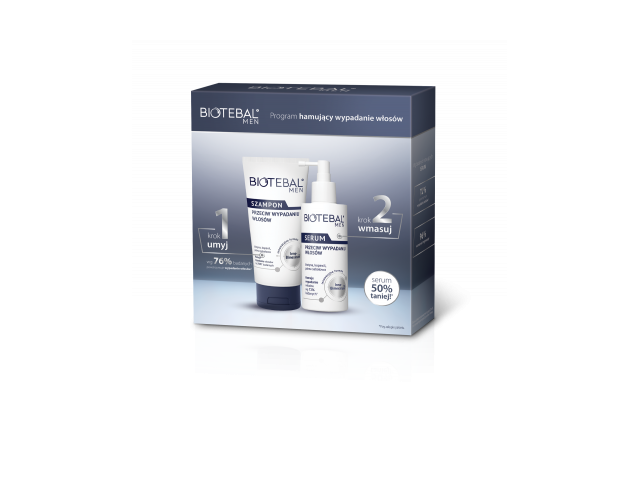 Biotebal Men Szampon 150 ml i Biotebal Men Serum 100 ml /pakiet/