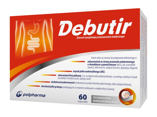 Debutir 150 mg x 60 kaps.