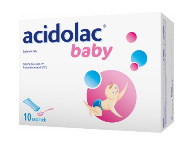 Acidolac Baby 1,5 g x 10 sasz.