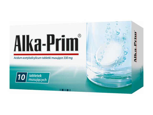 Alka Prim 330 mg x 10 tabl. mus.