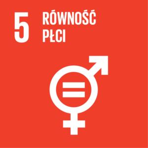 Zrównoważony Rozwój (SDGs) ikona Równość Płci