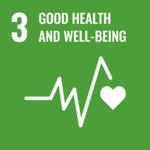 Sustainable development Good health and well-being icon