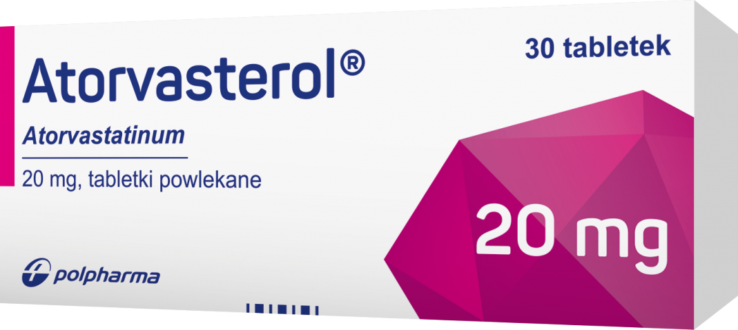 Atorvasterol 20 mg x 30 tabl. powl.
