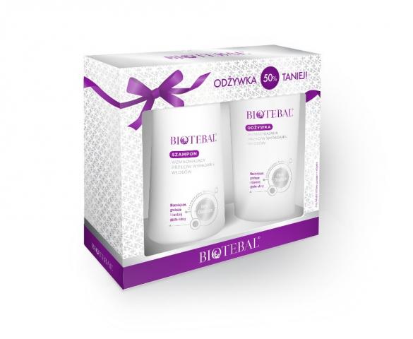 Biotebal Szampon 200 ml i Odżywka 200 ml /pakiet/