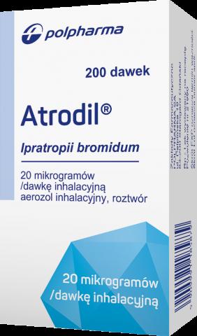 Atrodil, aerozol inhalacyjny, roztwór, 20 mcg x 200 dawek