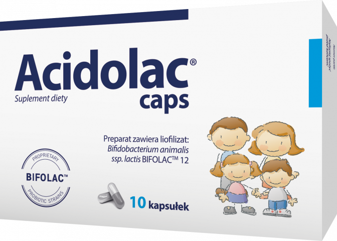 Acidolac caps x 10 kaps.