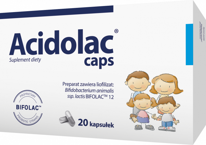 Acidolac caps x 20 kaps.