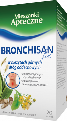 Bronchisan fix 3g x 20 sasz.