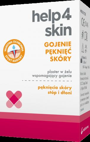 Help4Skin Gojenie pęknięć skóry Plaster w żelu 7 ml x 1