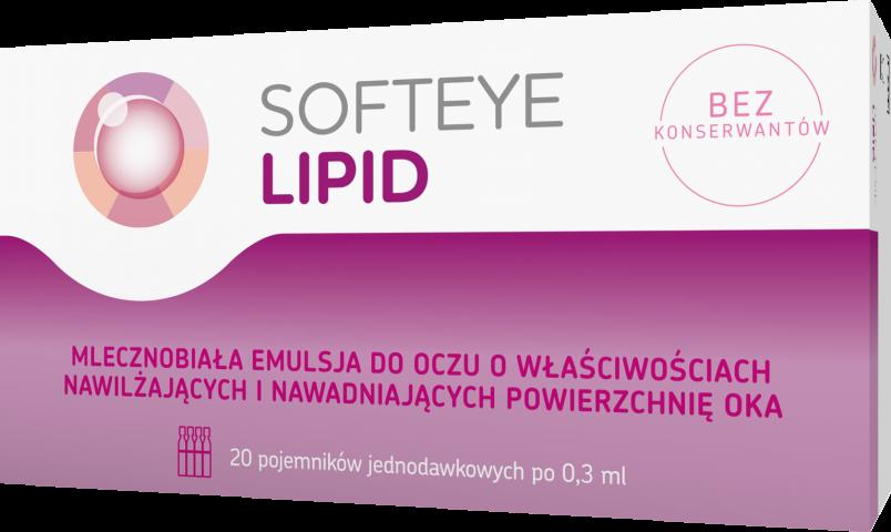 Softeye Lipid 0,3 ml x 20 pojemników