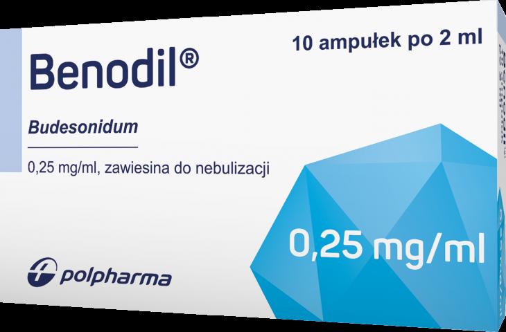Benodil zawiesina do nebulizacji 250 mcg/ml x 2ml x 10
