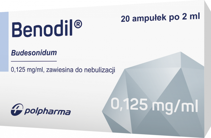 Benodil zawiesina do nebulizacji 125 mcg/ml x 2ml x 20