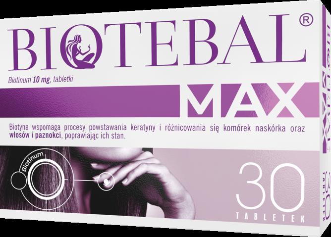 Biotebal Max 10 mg x 30 tabl.