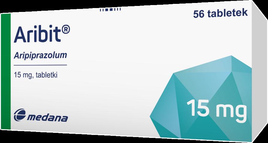 Aribit 15 mg x 56 tabl.