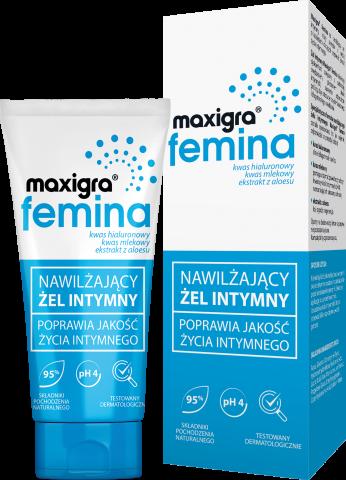 Maxigra femina nawilżający żel intymny 75 ml