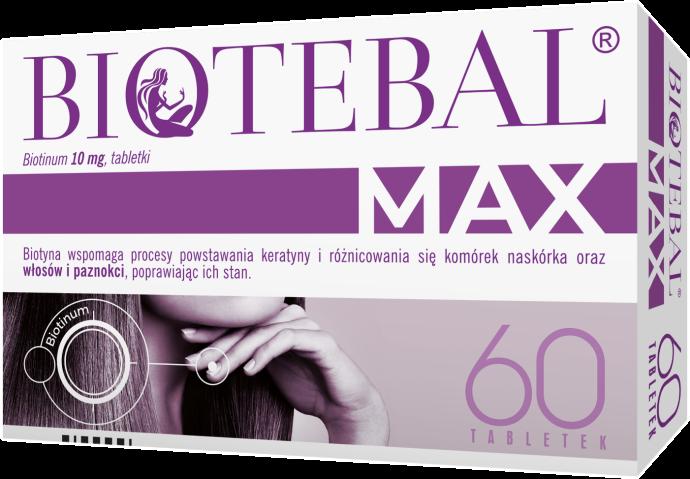 Biotebal Max 10 mg x 60 tabl.