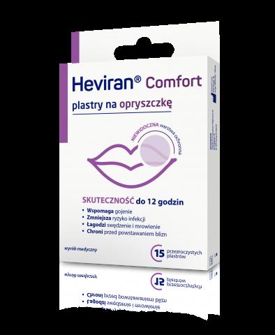 Heviran Comfort plastry x 15 sztuk