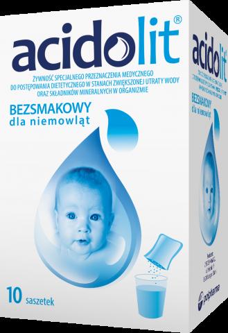 Acidolit (bez smaku) proszek do przyg. rozt. doust. x 10 sasz.