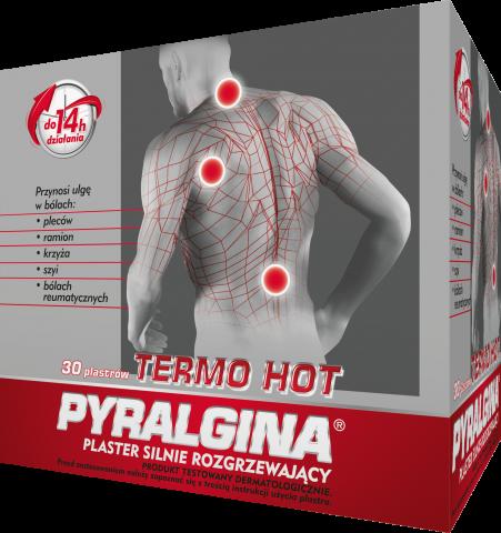 Pyralgina Termo Hot plaster silnie rozgrzewający 1 szt. /display x30/